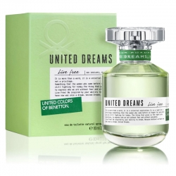 Colonia Benetton United Dreams Live Free Mujer