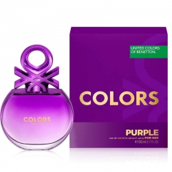 Colonia Benetton Colors Purple Woman 80ml mujer