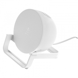 Soporte de carga inalámbrico + altavoz Bluetooth