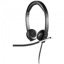 Headsets Logitech H650E Stereo Cableado USB LED