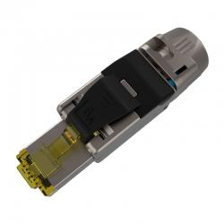 Conector Modular Nexxt Plug Cat6A Rj45 Blindada