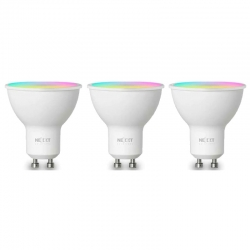 Bombillo LED Nexxt LED inteligente Multicolor pack