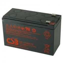 Batería CSB HR1234WF2 plomo ácido sellada 2V 9.0Ah