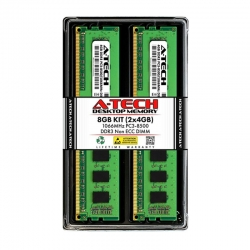 Memoria RAM Desktop A-Tech Dual 2X4GB DDR3 1066Mhz