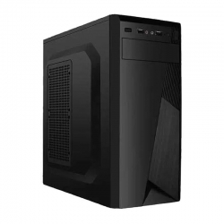 Torre Evox Blade Media ATX 2 USB 400W color negro
