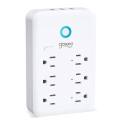 Regleta Gosund Smart enchufe multi WiFi 6 Tomas