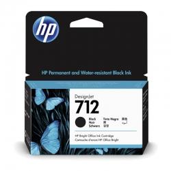 Cartuchos de Tinta HP 712 38Ml Negro Original