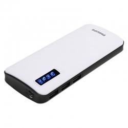 Batería portátil Philips con 3 USB pantalla LED