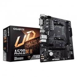 Tarjeta Madre Gigabyte A520M H AMD DDR4 HDMI
