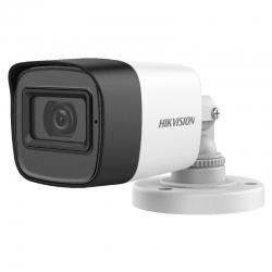 Cámara Hikvision Mini Bullet 4 en 1 2MP IR 20m