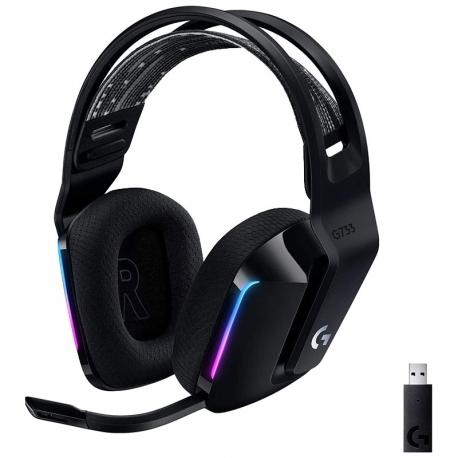 Headset Logitech G733 Lightspeed Gaming RGB 7.1