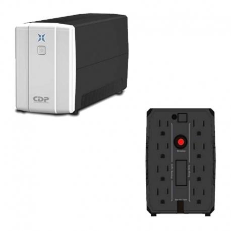 Batería UPS CDP R-UPR1008 1000VA/500W 8 tomas