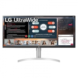 onitor LG UltraWide Plano 34' LED LCD HDR FHD IPS