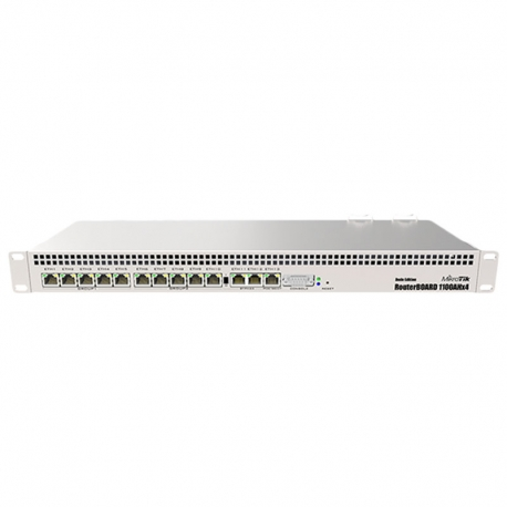 Switch Mikrotik RB1100AHx4 Dude Edition 13p Gige