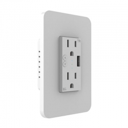 Tomacorriente de pared Nexxt Wi-Fi con puerto USB