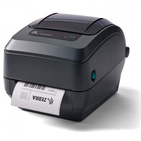 Impresora de etiquetas Zebra GK420T USB y Ethernet