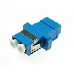 Adaptador de fibra LC/UPC SM duplex