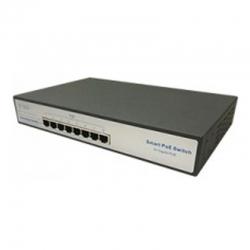 Switch Lantek 8 puertos POE+ Web-Managed Gigabit