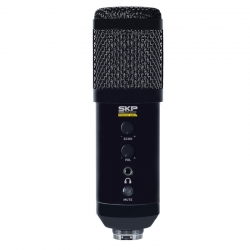 Micrófono SKP Podcast 400U de Estudio USB 3.5mm