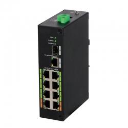 Switch Dahua ePoE 8 puertos hasta 800 m