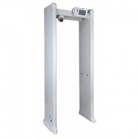 Detector de metales Dahua medición de temperatura