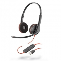 Headsets Plantronics Blackwire C3220 cable UC