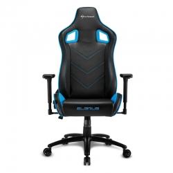 Silla Gaming Sharkoon Elbrus 2 color negro/azul