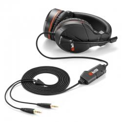 Headsets Sharkoon Rush ER3 Omnidireccional negro