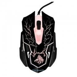 Mouse Eagle Warrior Gamer G16 óptico 2400 DPI LED
