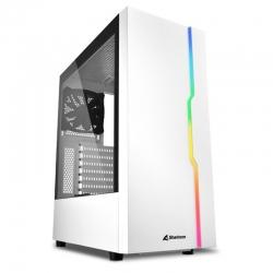 Torre Sharkoon RGB Slider ATX LED Vidrio templado