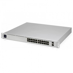 Switch Ubiquiti PoE 24 puertos, Gigabit Ethernet