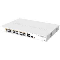 Router Mikrotik Gigabit Ethernet de 24p 1U PoE