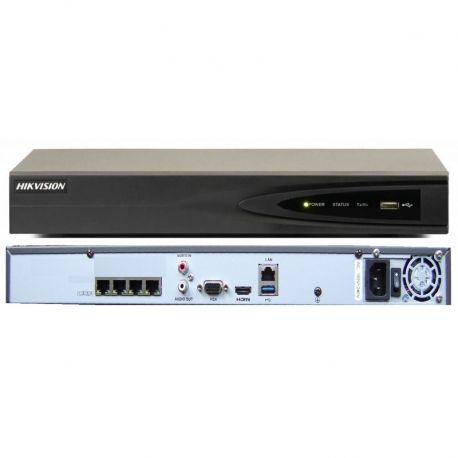 NVR Hiklvison DS-7604NI-E1/4P 4CH 6MP 1080p 6TB