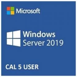 Licencia Microsoft Windows Server 2019 CAL 5USR