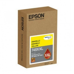 Cartucho de tinta Epson T748XXL color amarillo