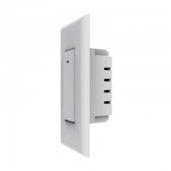 Interruptor de luz inteligente Nexxt WiFi Unipolar