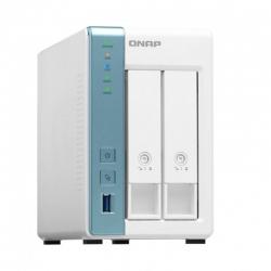 Servidor NAS QNAP TS-231K 2 Bahías SATA 1GB RAM