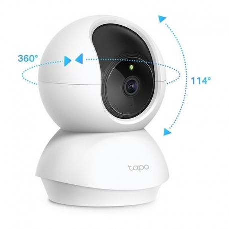 Cámara IP TP-Link Tapo C200 Wi-Fi Rotatoria 2MP