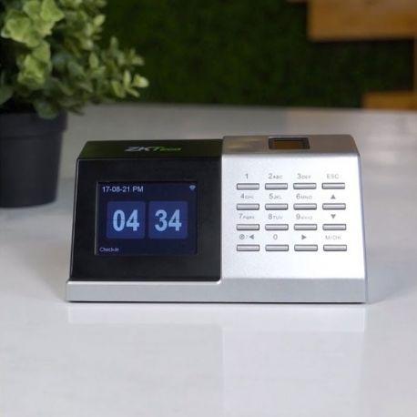 Reloj Biométrico ZKTeco D2 Wi-Fi 1000 Huellas LCD