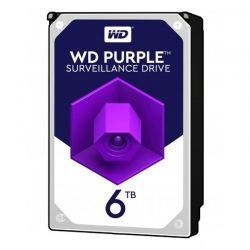 "Disco Interno WD Purple WD60PURZ 6 TB 3.5"" 5400rpm"