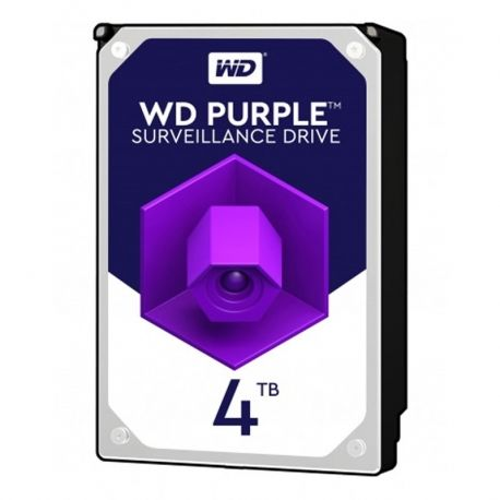 Disco CCTV WD Purple WD40PURZ 4TB 64mb 5400rpm