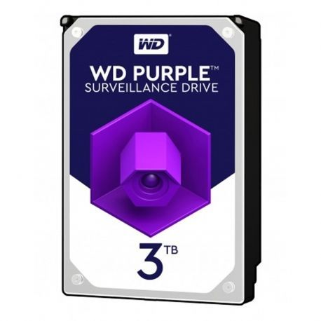 "Disco Interno WD Purple WD30PURZ 3 TB 3.5"" 5400rpm"