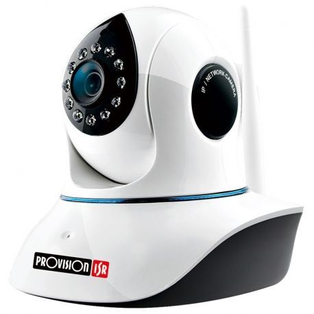 Cámara IP Provision PT-838 2MP 3.6mm 10m Wi-Fi SD