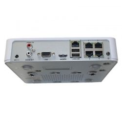 NVR Hikvision DS-7104NI-E1/4P 4CH 4MP P2P PoE