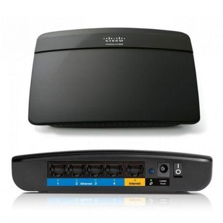 Router WiFi Linksys E1200-N300 4p MegaE b/g/n