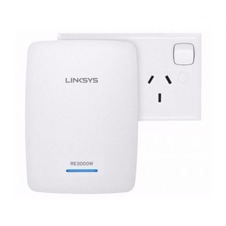 Extensor Wi-Fi Linksys RE3000W 1p MegaE 802.11B/N