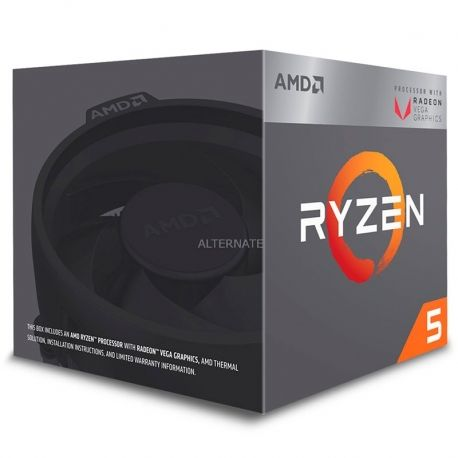Procesador AMD Ryzen 5 2400G 3.6 Ghz 4 Núcleos