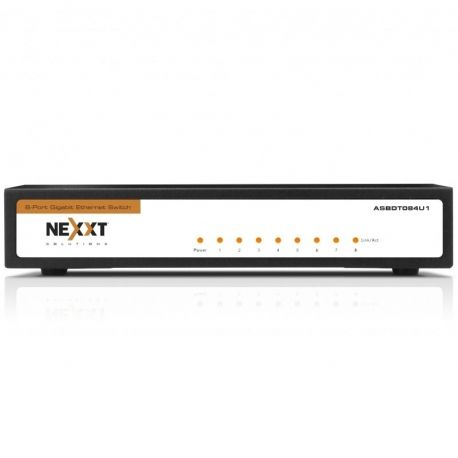 Switch Nexxt Axis800 8p GigaE 802.3x MDI/MDI-X
