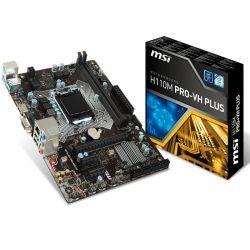 Tarjeta Madre MSI H110M PRO-VH PLUS LGA1151