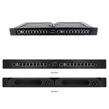 Switch Ubiquiti TS-16-CARRIER 16p GigaE y 2p USB